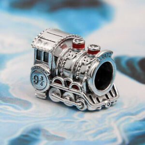 Authentic 100% 925 Sterling Silver Harry Potter Hogwarts Express Train Charm