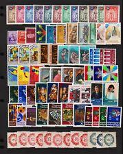 Liechtenstein - 76 mint stamps - see scan