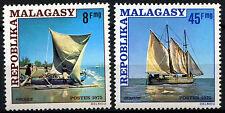 Malagasy 1975 SG#336-7 Sailing Vessels MNH Set #D39675