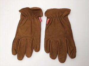 Marlboro Men's Unlimited Gear Genuine Leather Gloves Size L/XL 60344