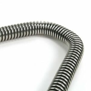 """Stainless Steel Flexible 44"""" Heater Hose Kit Fits Ford Sbc Bbc Chevy Mopar"""