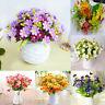 Silk Flowers Bridal Wedding Party Bouquet Posy Hydrangea Floral Home Decor