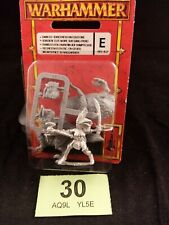Warhammer Dark Elf Sorceress on cold one new on blister Metal OOP Rare