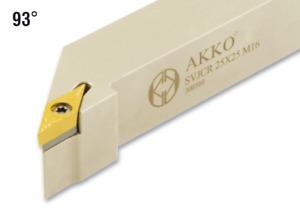 AKKO WSP Drehhalter 93° SVJCR SVJCL - alle Größen - für ISO Wendeplatte VC..