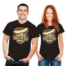 Markenlose figurbetonte Herren-T-Shirts mit Motiv keine Mehrstückpackung