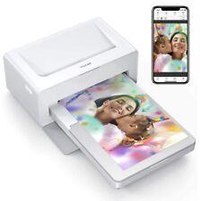 Victure Fotodrucker Sofort(4*6)Zoll , Direkt Vom Handy (nur Drucker)(UK Stecker)