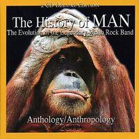 MAN - THE HISTORY OF MAN 2-CD ALBUM NEU&OVP (9102)