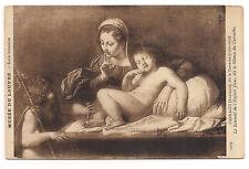 paris ,musée du louvre, carracci, dit le carrache, le sommeil de l'enfant jésus