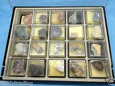 Collezione di 20 pietre PREZIOSE DE AGOSTINI 1984 minerali da tutto il Mondo