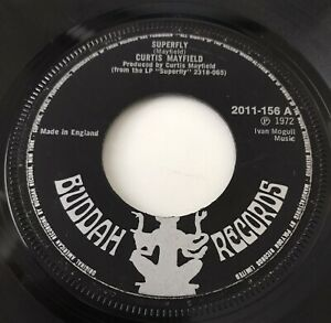 """CURTIS MAYFIELD - 1972 - """"SUPERFLY"""" - Buddah Records - 2011156 - *VG+*"""