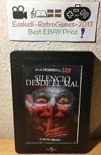 """""""Silencio desde el mal"""" DVD METÁLICO CON LÍQUIDOS 2007 James Wan (Ultra Rare)"""