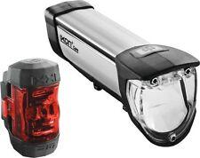 B&M Set LED Frontlampe IXON CORE IQ2 50 LUX/Rücklicht IXXI
