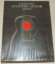 Legendary Acoustic Guitar Songs Songbook Box Set Gitarre Notenbuch NEU OVP