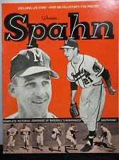 "Warren Spahn Milwaukee Braves 1964 ""Exclusive Life Story"" Magazine Program MLB"