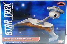 STAR TREK: ROMULAN BATTLE CRUISER MODEL KIT BY POLAR LIGHTS - 1/1000 SCALE (XP)