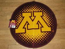 "Minnesota Gophers decorative round rug 22.5"""