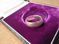925 Silber Ring Design Massiv unisex Schlicht Klein Kind 1,65 cm Streifen Massiv
