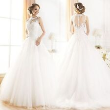 Lace Short Sleeve Unbranded Regular Wedding Dresses