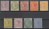 C2829/ BRITISH JAMAICA – VICTORIA – 1883 / 1911 MINT MH CLASSIC LOT – CV 240 $