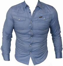 Polka Dot Long Sleeve Button-Front Casual Shirts for Men