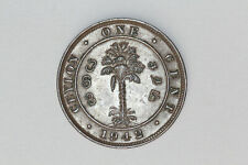 Ceylon - 1 cent 1942 thin planchet (#19)