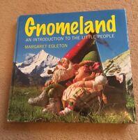 BOOK - The Book of Gnomes - GNOMELAND - Margaret Egleton - HB