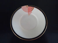 vintage royal doulton art deco tango coffee can saucer for cup & saucer set
