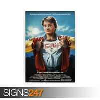 TEEN WOLF - CLASSIC 80S (ZZ038)  MOVIE POSTER Poster Print Art A0 A1 A2 A3