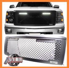 Putco 270507BL Boss LED Lightbar Black Grille Fits 14-15 Silverado 1500
