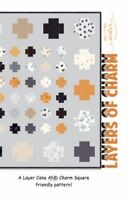 """Layers of Charm HALLOWEEN Quilt Pattern by Me & My Sister Designs, 60""""x60"""""""