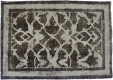 Antique Handmade Overdyed Distressed Rug 152 x 108cm