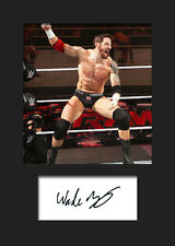 WADE BARRETT #2 (WWE) Signed Photo A5 Mounted Print - FREE DELIVERY