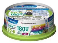New 20 Verbatim Printable Blu-ray 25GB 6x blank BD-R Blank Disc Media Japan