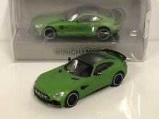 Minichamps 870037220 2017 Mercedes AMG GTR Green 1:87 Scale