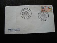 REPUBLIQUE CENTRAFRICAINE - enveloppe 1er jour 1/12/1961 (cy61)