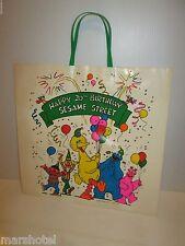 JC PENNEY HAPPY 1988 20TH BIRTHDAY SESAME STREET MUPPET DEPT STORE SHOPPING BAG