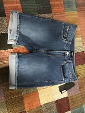 BEBE~ Cotton Stretch Denim Walking Shorts  Jean Shorts 29