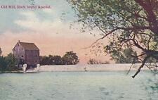 Antique Postcard c1907-20 Old Mill Rock Island Arsenal Rock Island, Il 18703