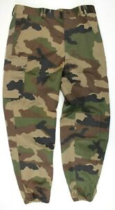 FRENCH ARMY COMBAT TROUSERS IN CCE CAMO GENUINE UNISSUED 88L