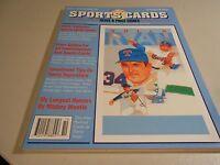 Premier Issue of Allan Kaye's Sports Cards Magazine-Nolan Ryan Cover!