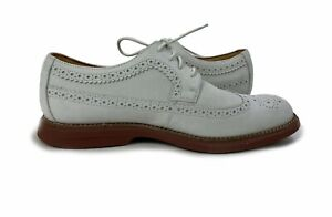 Sperry Top-Sider Mens SZ 10.5 Gold Cup Bellingham Wingtip Oxford Ivory STS13040