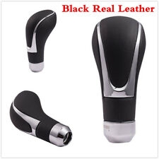 Genuine Leather Automatic Manual Car Truck Gear Shift Knob Shifter Lever Cover