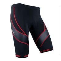 Men Cycling Shorts Red Bicycle Short 4D Pad Bike Riding Shorts Half Pants L-3XL