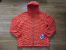 NORTH FACE MENS THERMOBALL SNOW HOODIE JACKET, ACRYLIC ORANGE, NWT $220, 2XL