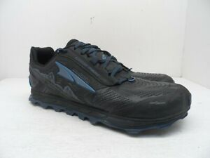 Altra MEN'S Lone Peak 4 Trail Running Shoes Black/Blue Size 13M