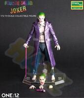 Movie Suicide Squad Joker PVC Figure Model 6'' New