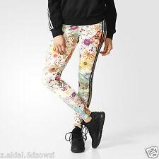 Adidas Originals W Vibrant Floral Print Leggings Size UK 6, 8 New  (476)