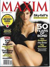 Maxim Magazine Nov.2012   50 YEARS OF JAMES BOND, BERENICE MARLOHE SKYFALL