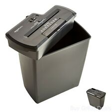 8 Sheet Strip Cut Paper CD Credit Card Shredder with Basket Auto Start Destroy