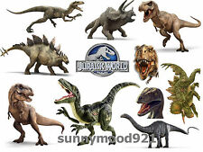 3D Home Decor Children Kids Room Decal Jurassic Dinosaur Removable Wall Sticker